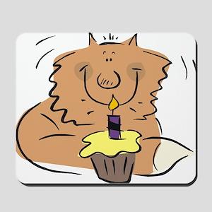 BIRTHDAY KITTY [1] Mousepad